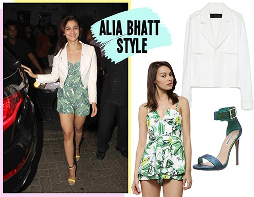 bollywood style Alia Bhatt Look