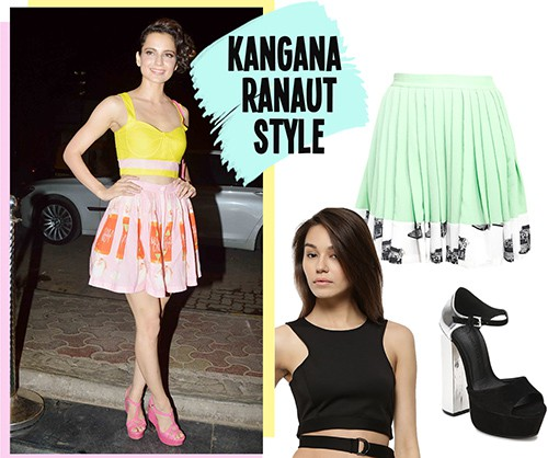 bollywood style Kangana Ranaut Look