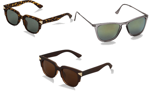 ROUNDSHAPED sunglasses for your face shape