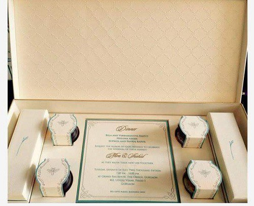 Shahid Kapoor wedding card