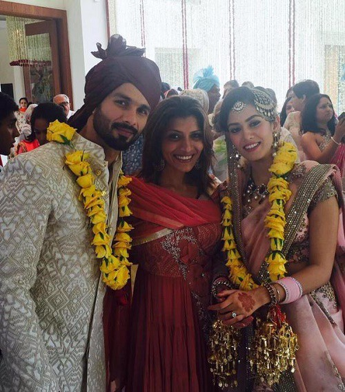 shahid kapoor wedding - post wedding