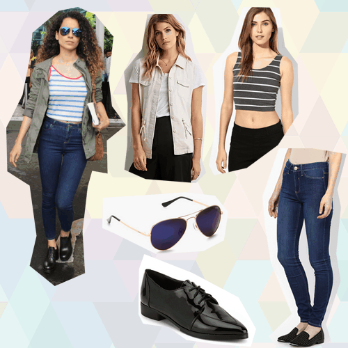 celeb inspired college looks Kangana