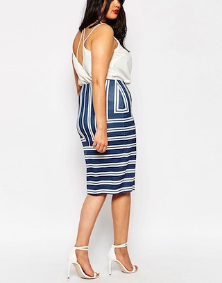 slimmer arms skirt