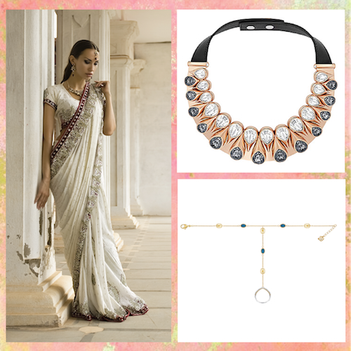 Indian wedding jewellery trends. 1
