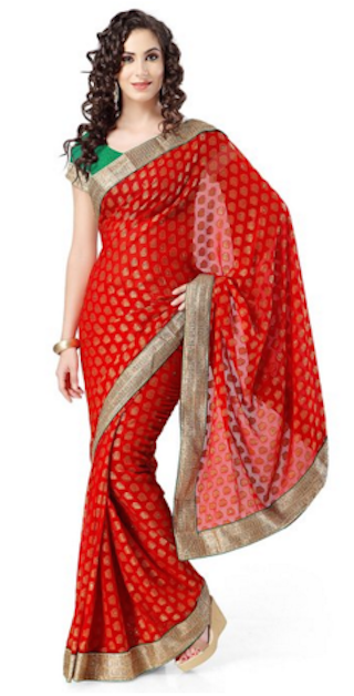 elegant sarees for the festive season. 5