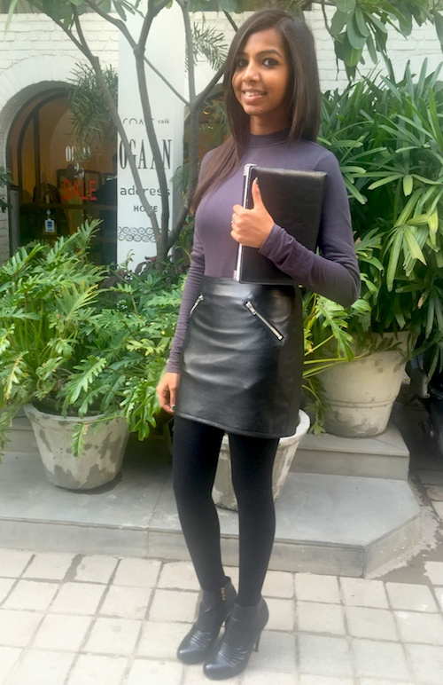 How to style skirts in winter Alisha