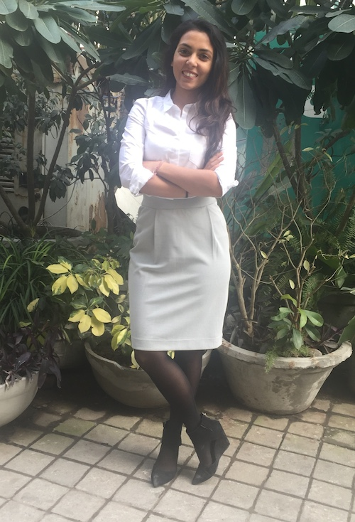 How to style skirts in winter Anushree