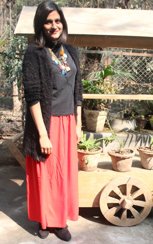 Kritika How to style skirts in winter