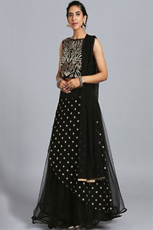 chhabra-555-black-embellished-made-to-measure-lehenga-sangeet-dresses-for-curvy-girls