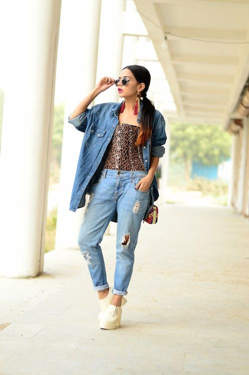 komal how to style denim