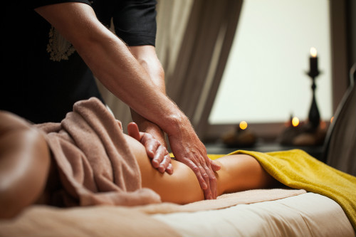 massage by a man