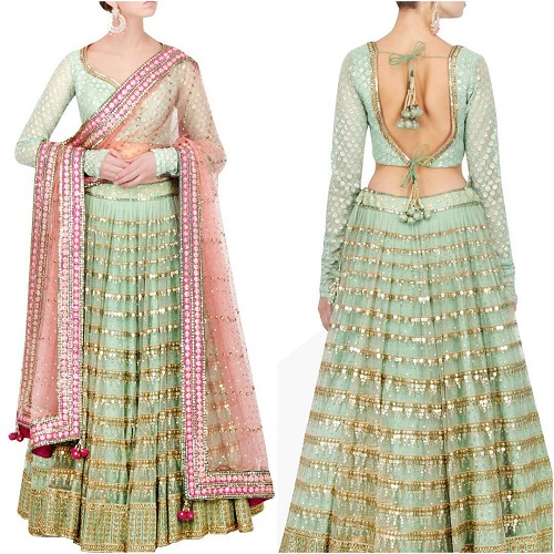4 blouse designs for shaadi