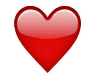 favorite emoji says about you - the red heart