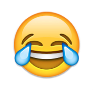 favorite emoji says about you - the face with tears of joy