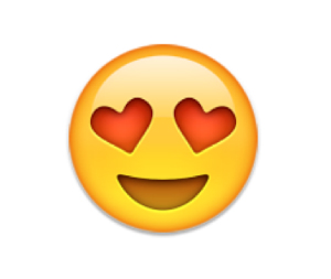 favorite emoji says about you - the heart eyes