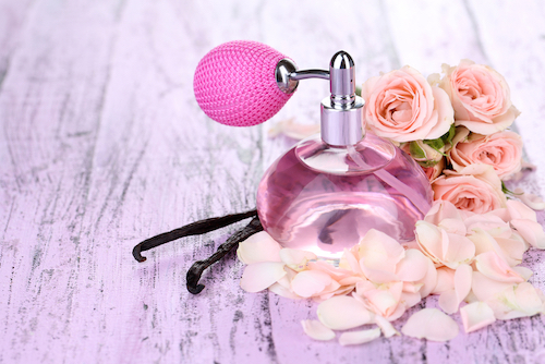 layering body lotion with perfume. 2