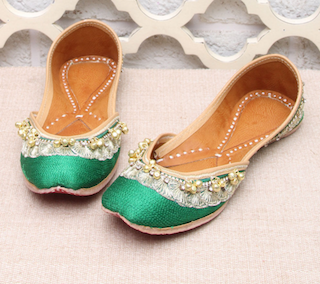 5 shoes to wear at an Indian wedding