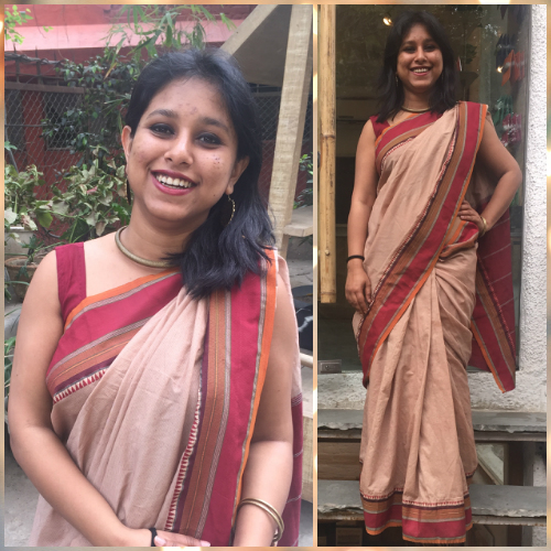 How to style a saree
