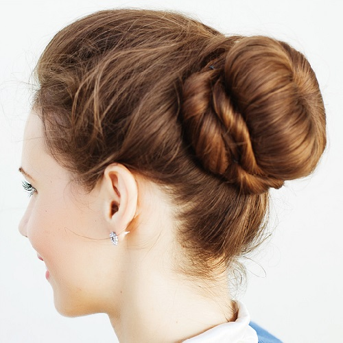 Pretty Updos That Need No Heat Styling