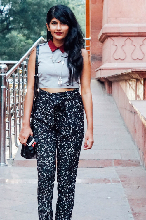 how to style crop tops