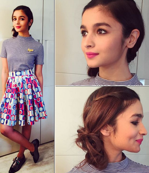 alia bhatt looks for college