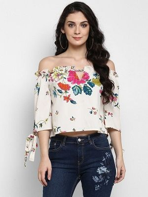 Flower-Power-off-shoulder-tops-for-women