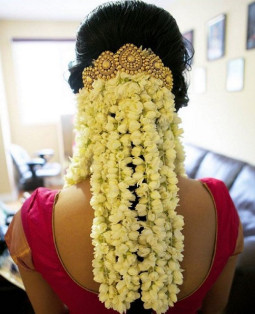 Wedding Hairstyle For Kerala Bride: Beautiful Gajra Hairstyles For