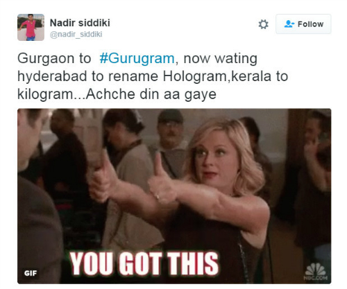 gurgaon to gurugram 3