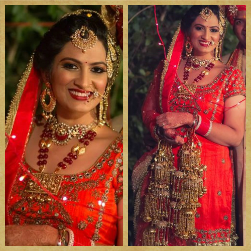 finding my dream wedding lehenga