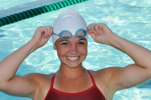 1 Protect your skin and hair while swimming