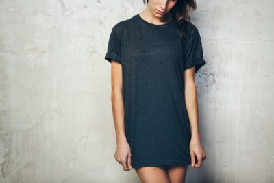 T-Shirt-Dress-for-girls-with-a-broader-waist