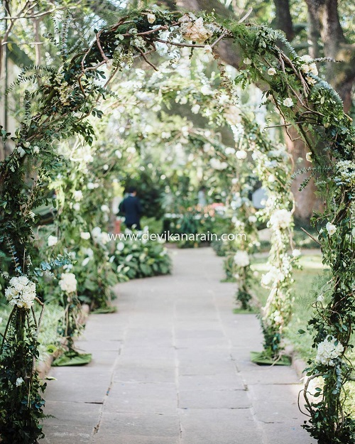 wedding entry decor