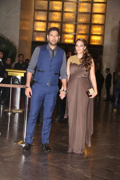 2 preity zinta wedding reception