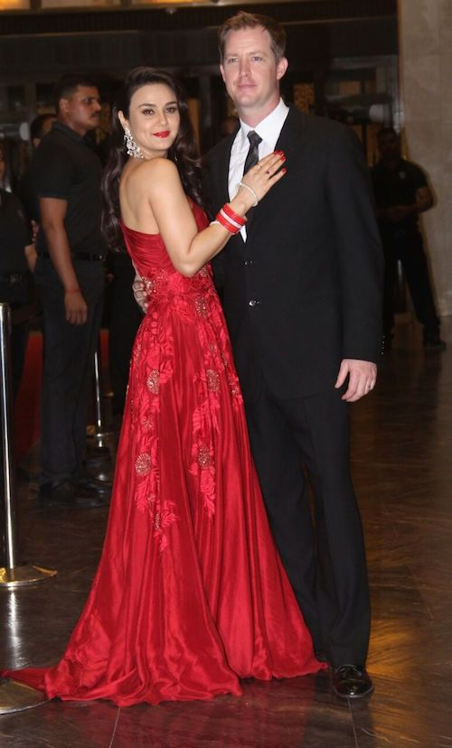 preity zinta wedding reception 6