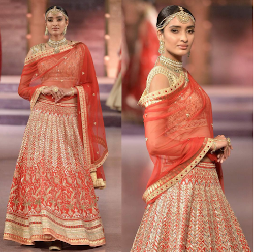 1 look slimmer in lehenga