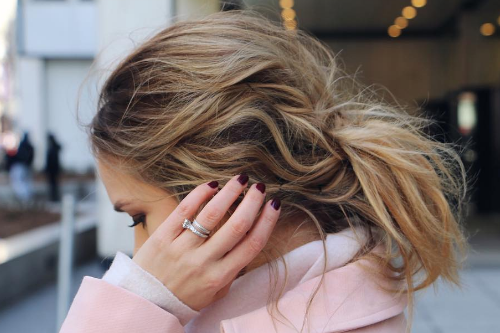 1 messy hairstyles