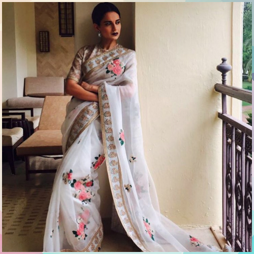 2 saree styles to look slimmer