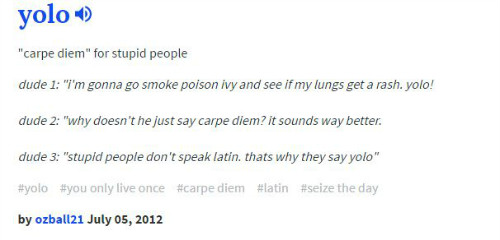 3 Urban Dictionary definitions