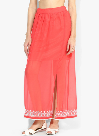 3 embroidered skirts for weddings