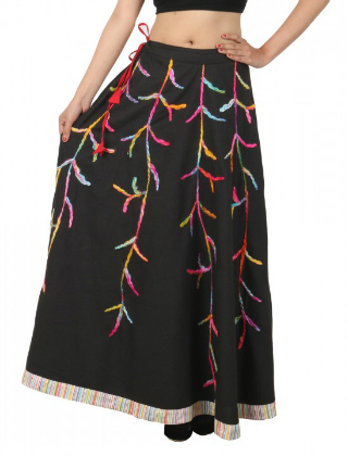 4 embroidered skirts for weddings