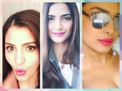 4 lip colours of bollywood