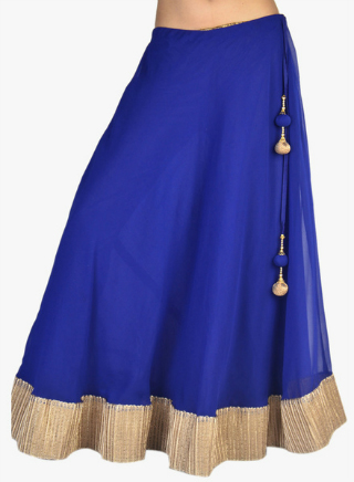 6 embroidered skirts for weddings
