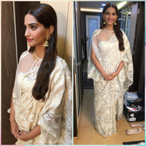 6 saree styles to look slimmer