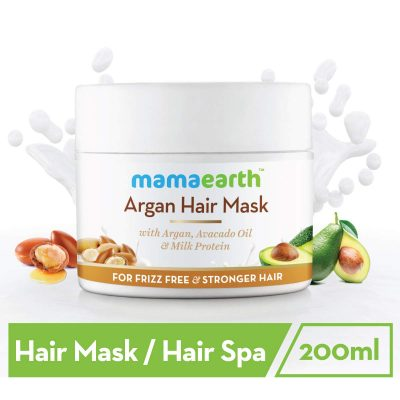 mama earth argan oil hair spa mask