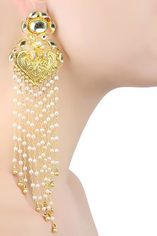 10 gold plated earrings