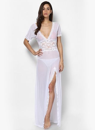 2 nightwear options for the bride