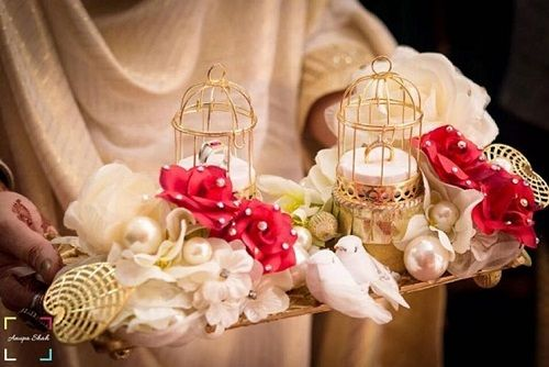 3 birdcage decor at weddings
