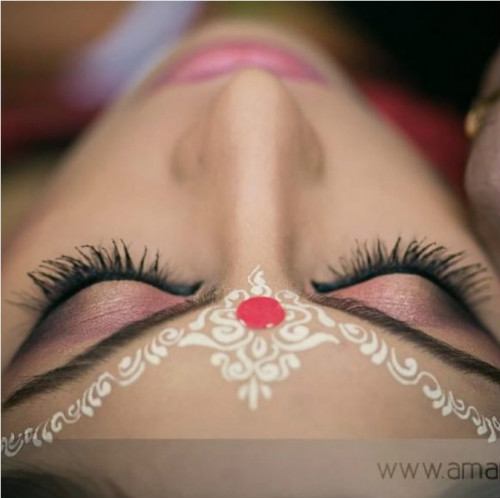 4 bridal bindi design