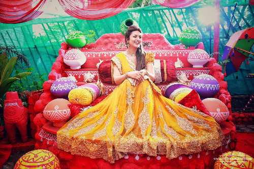 5 Mehendi and Haldi ceremony of Divyanka Tripathi