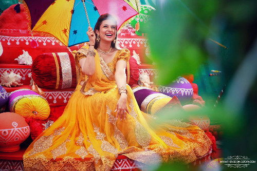 6 Mehendi and Haldi ceremony of Divyanka Tripathi
